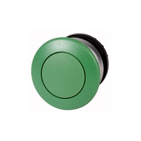 216716 Gombafejű nyomógomb, zöld