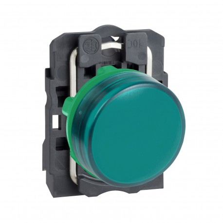 Harmony komplett műanyag LED jelzőlámpa, O22, 24VAC/DC, zöld