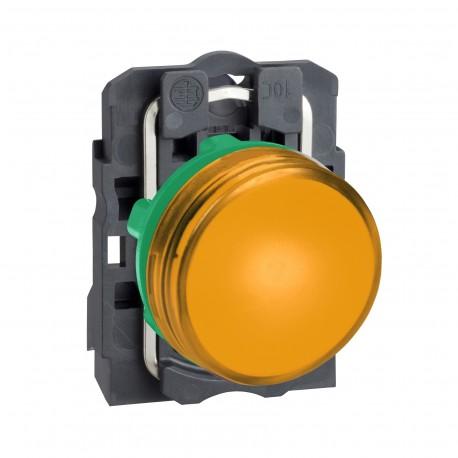 Harmony komplett műanyag LED jelzőlámpa, O22, 24VAC/DC, narancssárga