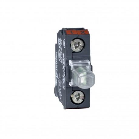 Harmony XAC kiegészítő, LED modul, hátlapra szerelhető, 24 VAC/DC zöld, XAC tokozatokhoz