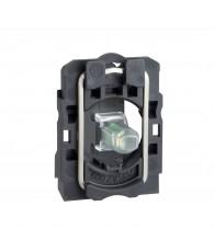 LED blokk rögzítő aljzattal, 230VAC, fehér