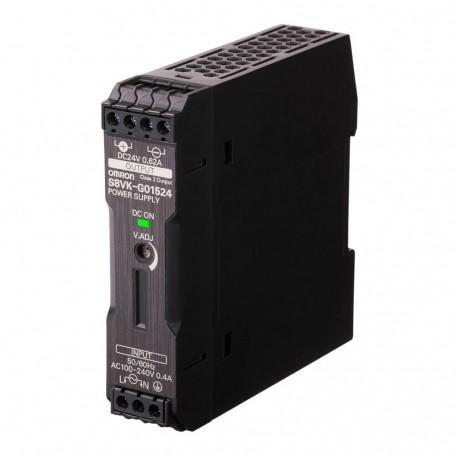 Kapcsolóüzemű tápegység 100-230 VAC / 24 VDC 0,65 A / 15 W