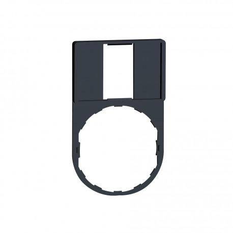 Harmony címketartó 30x50 mm, O22 készülékekhez, 18x27 mm felirati címke nélkül