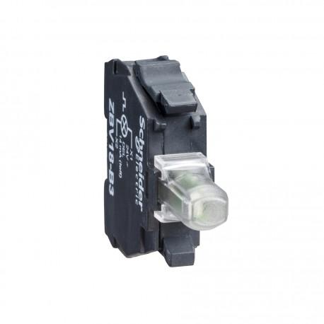 Harmony jelzőlámpa világító modul, LED, 230VAC, fehér, csavaros csatlakozó
