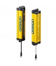 Biztonsági fényfüggöny, 2-es kategória, felbontás: 14 mm, védett magasság: 480 mm, alap kivitel