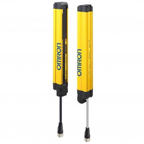 Biztonsági fényfüggöny, 2-es kategória, felbontás: 30 mm, védett magasság: 430 mm, fejlett kivitel