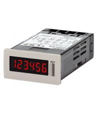 Multifunkciós összegző- és üzemóraszámláló, jól látható inverz LCD kijelzővel (15mm). Tápfeszültség: 12..24VDC