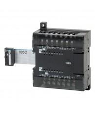 Kompakt PLC bővítő egység, 16 db 2A 250VAC/24VDC terhelhetőségű relé kontaktus kimenettel.