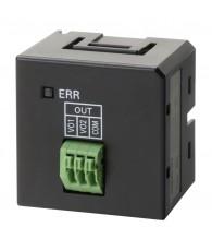 Analóg kimeneti modul, CP1L-E PLC-hez, 2 db 0 - 10 V (1/4000 felbontás) analóg kimenettel.