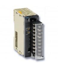Analóg kimeneti modul 12 bites jelfelbontással, 2 db 4 - 20 mA, 1 – 5 V, 0 – 5 V, 0 – 10 V, -10 - +10 V-os egyenként választható