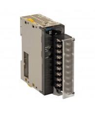 Analóg kimeneti modul 12 bites jelfelbontással, 4 db 4 - 20 mA, 1 – 5 V, 0 – 5 V, 0 – 10 V, -10 - +10 V-os egyenként választható