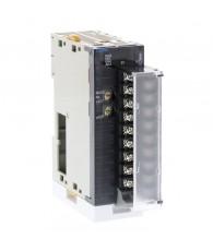 Analóg kimeneti modul 12 bites jelfelbontással, 8 db 4 - 20 mA jelszintű kimenettel, sorkapocs csatlakozással.