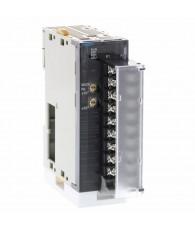 Analóg kimeneti modul 12 bites jelfelbontással, 8 db 1 – 5 V, 0 – 5 V, 0 – 10 V, -10 - +10 V-os egyenként választható jelszintű