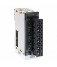 Kontaktus kimeneti modul 16 db 250 VAC / 24 VDC 2 A terhelhetőségű relé kontaktussal (egy közös ponttal), levehető gyorscsatlak