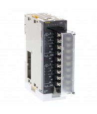 PNP tranzisztoros kimeneti modul 8 db egymástól független kimenettel, egyenként 2 A / 24 VDC terhelhetőséggel, elektronikus röví