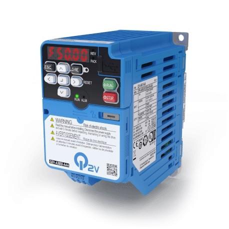Frekvenciaváltó 1x200V, HD: 0,8 A / 0,1 kW, IP20