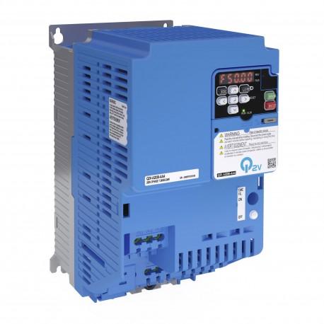Frekvenciaváltó 400 V, HD: 24,0 A / 11,0 kW, IP20