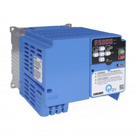 Frekvenciaváltó 1x200V, HD: 8,0 A / 1,5 kW, IP20
