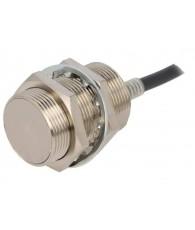 Induktív érzékelő M30-as átmérő, érzékelési távolság 10mm, AC 2-vezetékes NO kimenet, 2m beöntött kábellel
