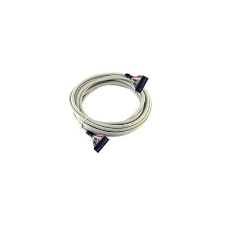 Modicon ABE7 kábel, 20 eres, HE10-HE10, Telefast - TM3DIxxK/TM221MxxxK csatlakoztatáshoz, 1m