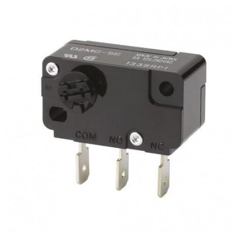 Miniature Basic Switch, Clockwise, 5 A at 250 VAC, OTg:0.5mN·m