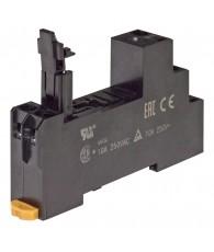 Socket, DIN rail/surface mounting, 5-pin, screw terminals