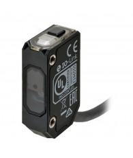 Photoelectric sensor, rectangular housing, plastic body, infrared laser class 1, time-of-flight, 1000 mm, PNP, Light-ON/Dark-ON,