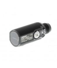 Fotoelektromos érzékelő M18-as átmérő, tárgyreflexiós, érzékelési távolság 100mm, NPN-kimenet, M12 csatlakozóval