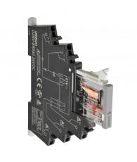 6mm-es I/O relé foglalattal, 6A, 110VAC, Push-in plus csatlakozás