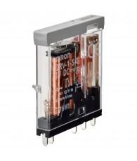 Vékony (6mm) bemeneti relé (Cserealkatrész a G2RV-SR*00 24VDC, 24VAC/DC típusokhoz)