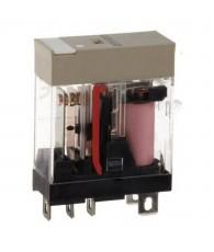 Ipari relé 110VAC, 1 váltóérintkezővel (10A), működésjelző LED-del