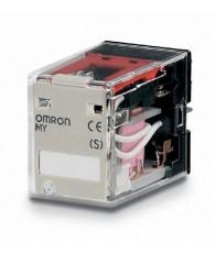 Ipari relé 220/240VAC, 2 váltóérintkezővel (10A)