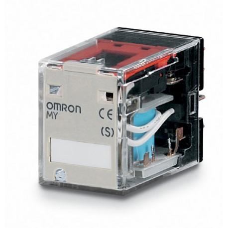Ipari relé 12VDC, 2 váltóérintkezővel (10A)