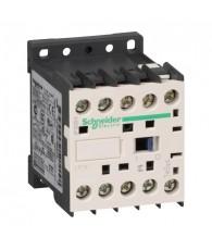 Mágneskapcsoló 6A, 24VDC, NC segédérintkezővel
