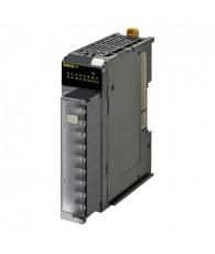 NX típusú kimeneti kártya 16db 12 - 24VDC 0,5A terhelhetőségű NPN tranzisztoros kimenettel. Be/kikapcsolási idő 0,1/0,8ms. Csav