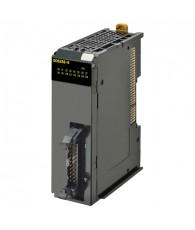NX típusú kimeneti kártya 16db 24VDC 0,5A terhelhetőségű PNP tranzisztoros kimenettel. Be/kikapcsolási idő 0,1/0,8ms. 20 pólusú