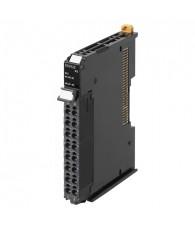 NX típusú gyorsszámláló modul, 1 db inkrementális jeladó fogadására, további 3 db PNP jellegű vezérlőbemenettel. Számlálási tart