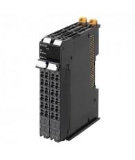 NX típusú gyorsszámláló modul, 1 db inkrementális jeladó fogadására, további 3 db PNP-s vezérlőbemenettel. Számlálási tartomány