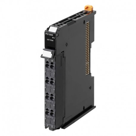 NX bus power supply unit, 24 V DC input, non-isolated, screwless push-in connector, 12 mm wide