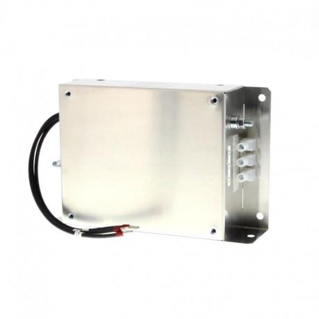 Rádiófrekvenciás zavarszűrő V1000 sorozathoz, max 5A, EN 55011 1B osztály, készülék hátlapjára szerehető kialakítás