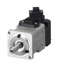 200 W névleges teljesítményű 230 V névleges feszültségű AC szervomotor, beépített 17-bit/fordulat felbontású jeladóval. Névleges