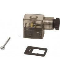 Csatlakozó dugó + LED 24V 122-701