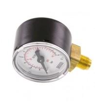 40-es manométer alsó csatlakozás 0÷10 bar G 1/8 MS 1040