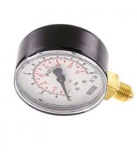 63-as manométer alsó csatlakozás 0÷10 bar G 1/4 MS 1063