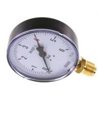 100-as manométer alsó csatlakozás 0÷6 bar G 1/2 MS 6100