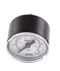 40-es manométer hátsó csatlakozás 0÷6 bar G 1/8 MW 640