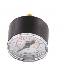 40-es manométer hátsó csatlakozás 0÷10 bar G 1/8 MW 1040