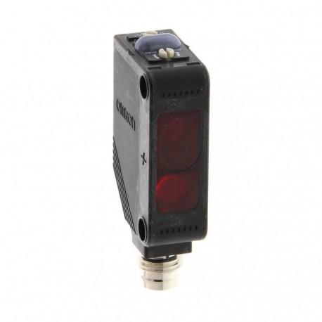 Fotoelektromos érzékelő, tárgyreflexiós, érzékelési távolság 2-80mm, PNP-kimenet, M8 csatlakozóval
