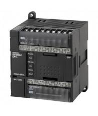 Kompakt PLC központi egység, 5 k lépés beépített programtároló RAM-al, real time órával, 10 k szó 16 bites adattároló memória (D