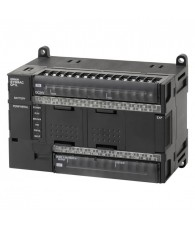 Kompakt PLC központi egység, 10 k lépés beépített programtároló RAM-al, real time órával, 32 k szó 16 bites adattároló memória (